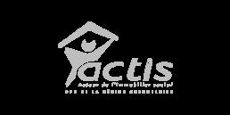 Actis - client Agence de communication Lyon et Grenoble Kineka