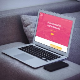 Site internet La Fête à Jongkind