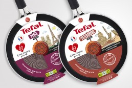 Packaging poêles Tefal